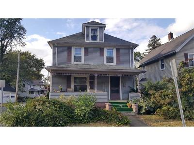 Painesville OH Single Family Home For Sale: $69,000