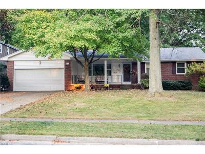 Boardman Single Family Home For Sale: 6627 Applewood Blvd
