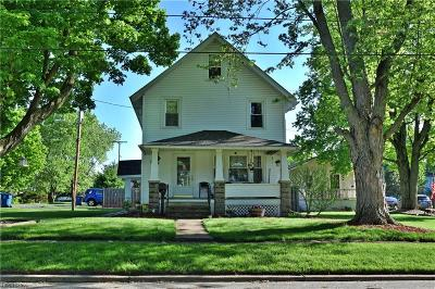 Newton Falls Single Family Home For Sale: 204 Orchard St