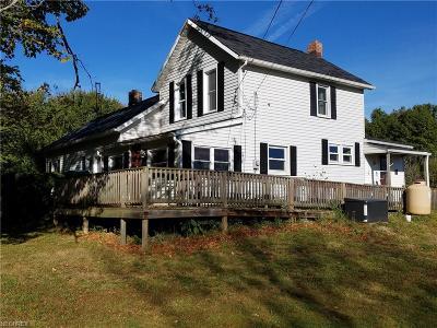 Ashtabula County Single Family Home For Sale: 6373 Laskey Rd