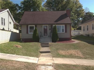 Guernsey County Single Family Home For Sale: 520 North 18th St