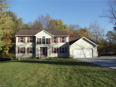 Struthers Single Family Home For Sale: 5501 Clingan Rd