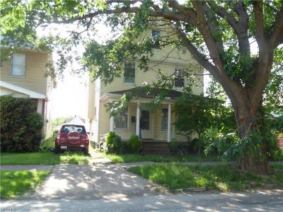Cleveland Single Family Home For Sale: 3440 East 75th St