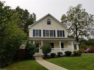 Cleveland Single Family Home For Sale: 1617 Plymouth Rd