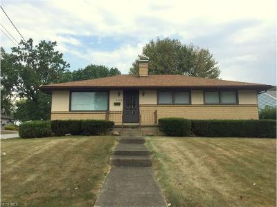 Girard Single Family Home For Sale: 1093 North Ward Ave