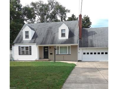 Youngstown Single Family Home For Sale: 3400 White Beech Ln