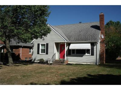 Richmond Heights Single Family Home For Sale: 291 Richmond Rd