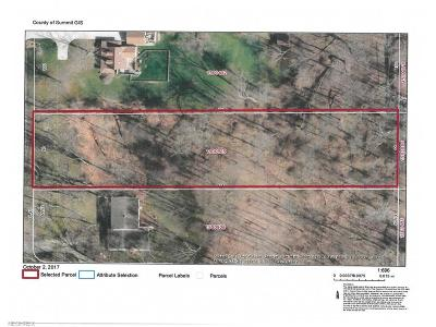 Copley Residential Lots & Land For Sale: Raleigh Blvd