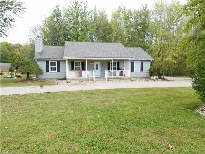 Geneva Single Family Home For Sale: 4519 East Maple Rd