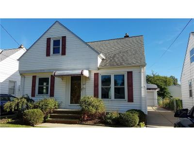 Wickliffe Single Family Home For Sale: 29924 Phillips Ave