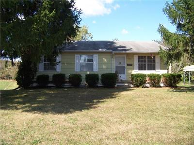 Zanesville Single Family Home For Sale: 3845 Wayne Ridge Rd