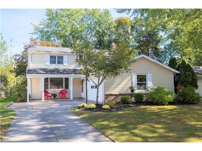 Solon Single Family Home For Sale: 6493 Glenallen Ave