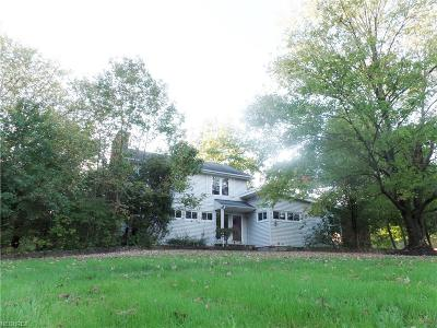 Chesterland Single Family Home For Sale: 13320 Chillicothe Rd
