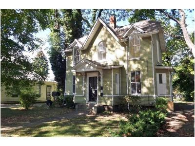 Painesville OH Single Family Home For Sale: $25,200
