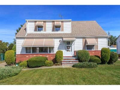 Willowick Single Family Home For Sale: 30209 Barjode Rd