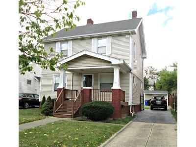Cleveland Single Family Home For Sale: 3784 West 137th St