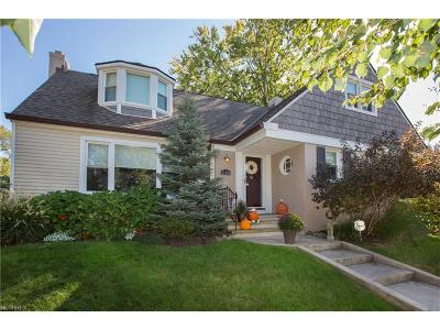 Rocky River Single Family Home For Sale: 21085 Erie Rd