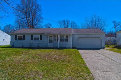 Lake County Single Family Home For Sale: 6445 Ambrose Dr