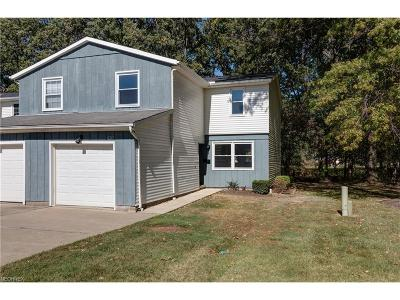 Mentor Condo/Townhouse For Sale: 8241 Lancaster Dr