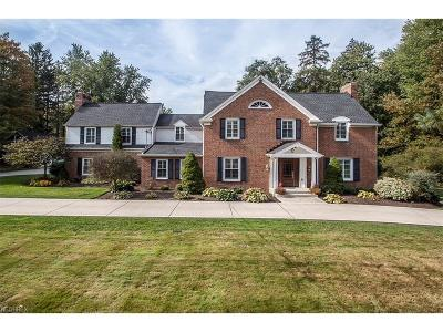 Chagrin Falls Single Family Home For Sale: 7637 Chagrin Rd