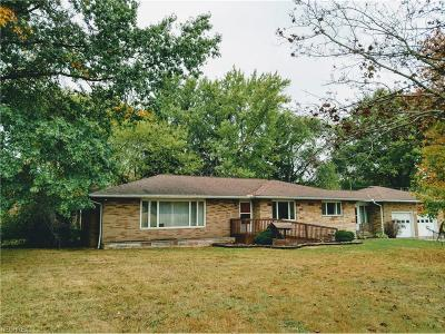 Kent Single Family Home For Sale: 1872 Meloy Rd