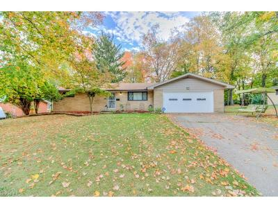 North Olmsted Single Family Home For Sale: 5211 Evergreen Dr