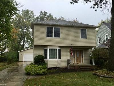 Cuyahoga County Single Family Home For Sale: 1127 Genesee Ave