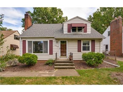 Rocky River Single Family Home For Sale: 2709 Westmoor Rd
