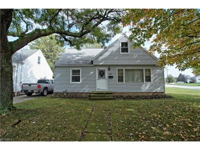 Willowick Single Family Home For Sale: 667 East 305th St