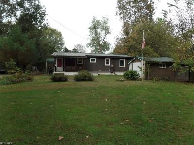 Stockport Single Family Home For Sale: 3540 East State Route 266