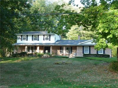 Copley Single Family Home For Sale: 1486 Belle Meade Dr