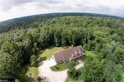 Guernsey County Single Family Home For Sale: 6255 Sherrard Rd