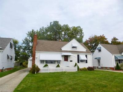 Willowick Single Family Home For Sale: 397 East 308th St