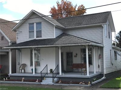 Guernsey County Single Family Home For Sale: 260 Broadway St