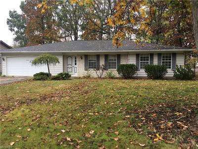 Strongsville Single Family Home For Sale: 18100 Raccoon Trl