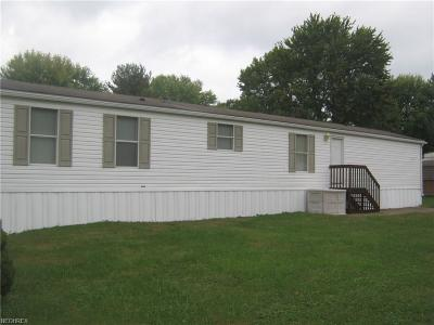 Muskingum County Single Family Home For Sale: 2200 South River Road Lot 52