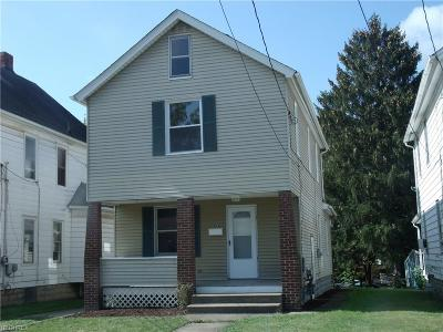 Girard OH Single Family Home For Sale: $48,500