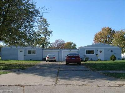 Lorain County Single Family Home For Sale: 1547 East 33rd St