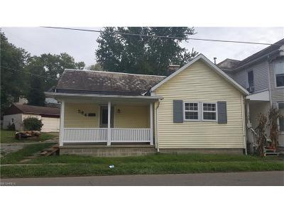 Zanesville Single Family Home For Sale: 584 Dryden Rd