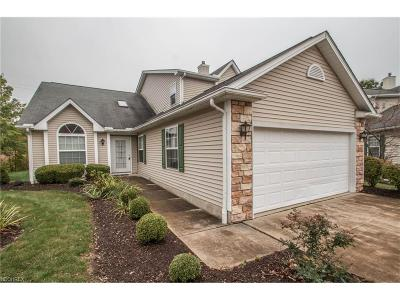 Brecksville, Broadview Heights Condo/Townhouse For Sale: 7572 Sanctuary Cir #15