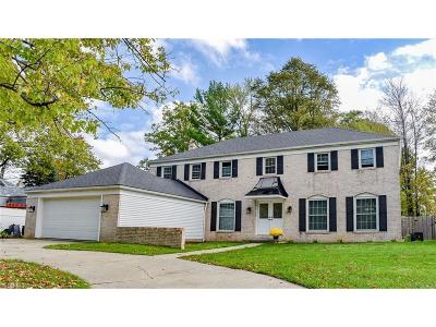 Strongsville OH Single Family Home For Sale: $254,999