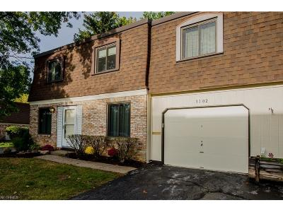 Painesville Township Condo/Townhouse For Sale: 1651 Mentor Ave #3102