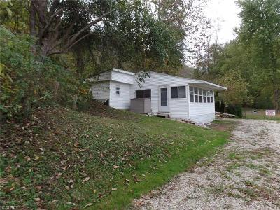McConnelsville Single Family Home For Sale: 4956 State Route 669