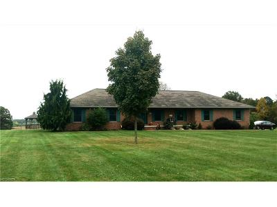 Muskingum County Single Family Home For Sale: 3897 Old Wheeling Rd