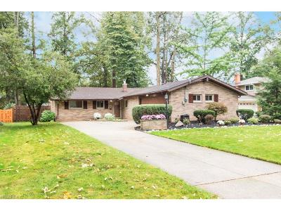 North Olmsted Single Family Home For Sale: 5113 Hampton Dr