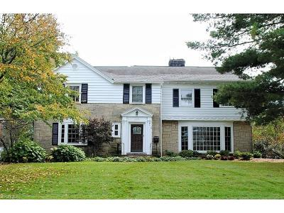 Shaker Heights Single Family Home For Sale: 2671 Cranlyn Rd