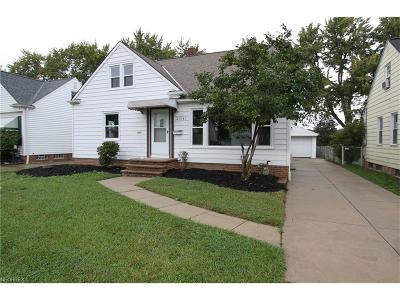 Wickliffe Single Family Home For Sale: 29743 Robert St