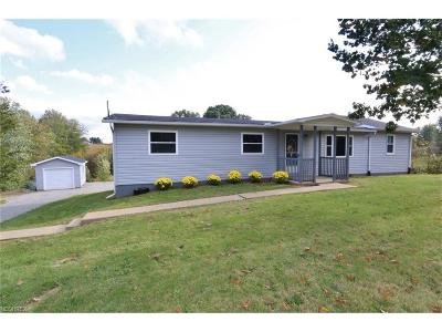 Muskingum County Single Family Home For Sale: 4570 East Pike