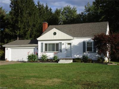 Youngstown Single Family Home For Sale: 2012 Holbrooke Rd