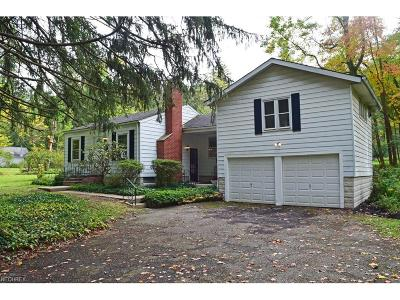 Willoughby Hills Single Family Home For Sale: 2560 Dodd Rd